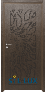 Интериорна врата Sil Lux 3004P Златен кестен