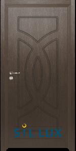 Интериорна врата Sil Lux 3008P Златен кестен