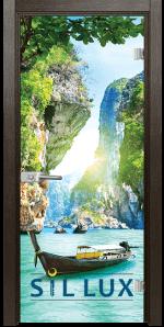 Стъклена интериорна врата Print G 13 15 K