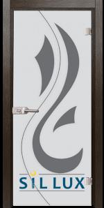 Стъклена интериорна врата Sand G 14 10 K